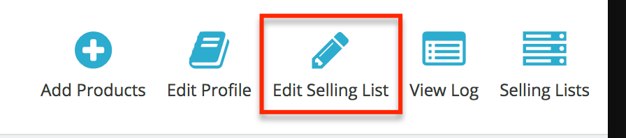 PrestaShop Amazon module — Modify Selling List Details