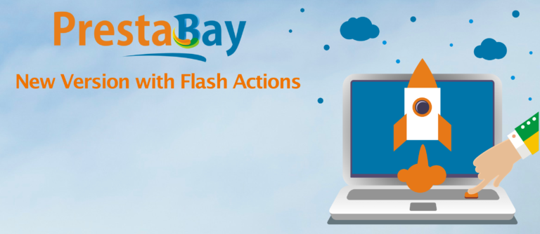 PrestaBay Startup 1.8 — Flash Actions